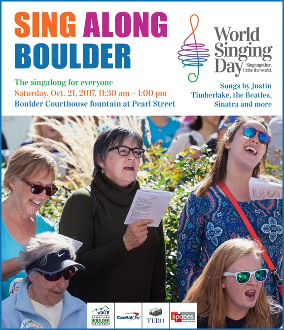 World Singing Day Boulder 2017