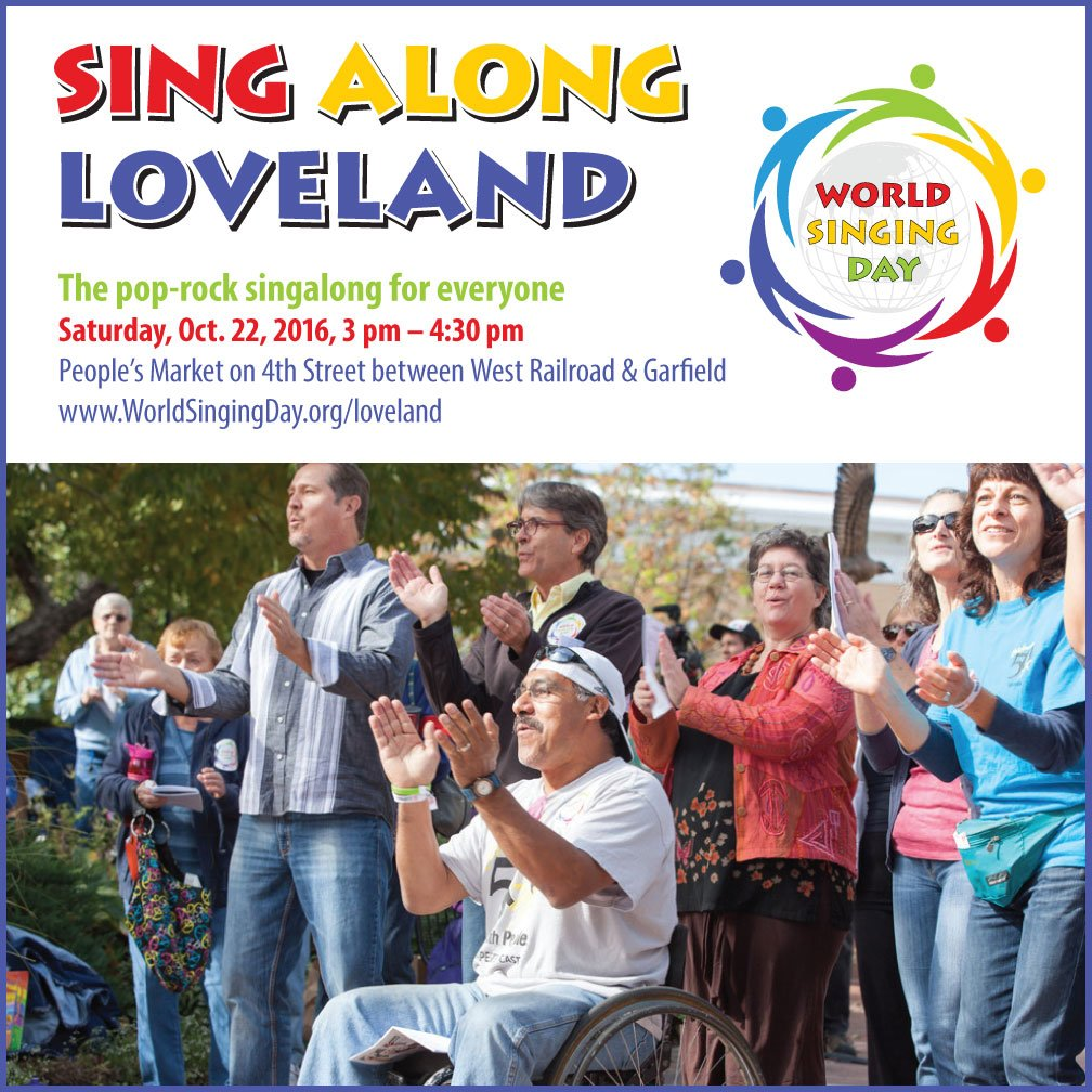 Sing Along Loveland World Singing Day