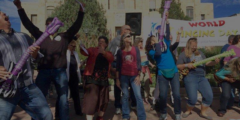 Sing Along Boulder World Singing Day slider