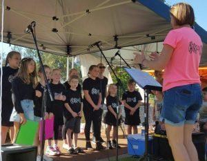 World Singing Day Choirs4Kids Perth, Bull Creek, Western Australia