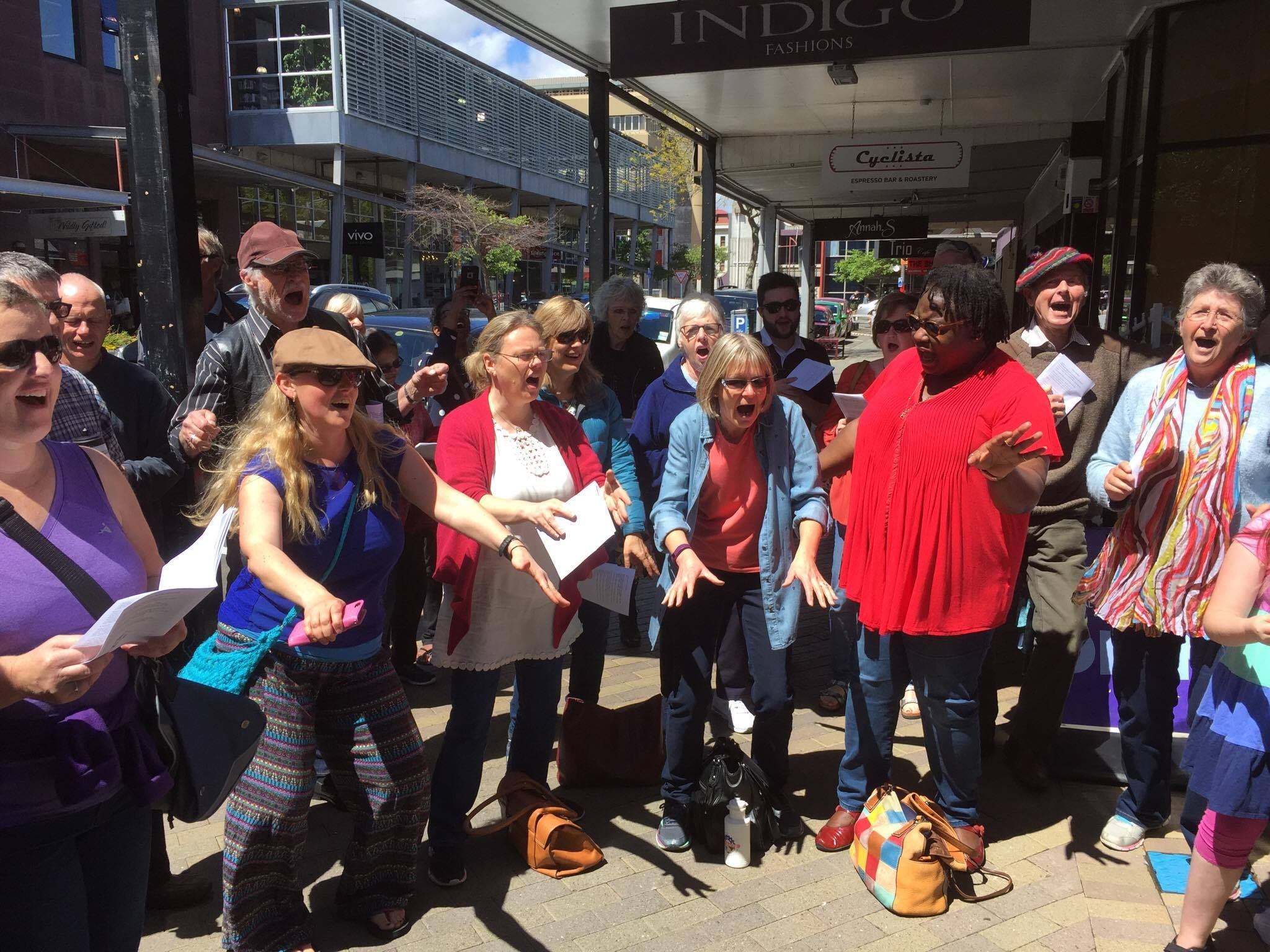 World Singing Day New Zealand