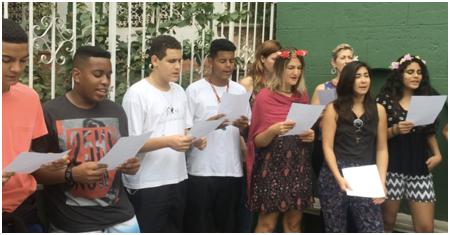 World Singing Day Rio de Janeiro 2016