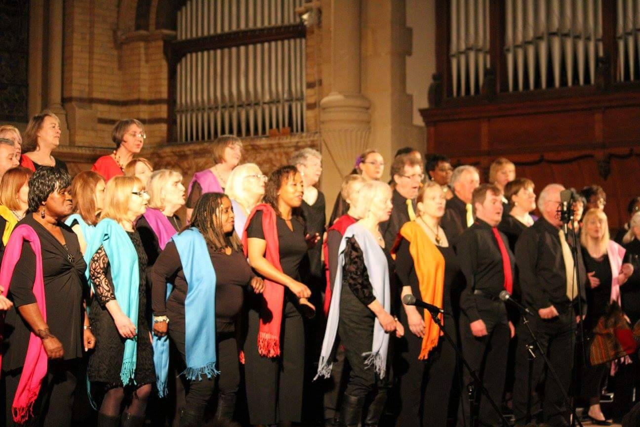 Amika Choir World Singing Day